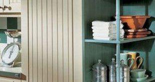 90 pretty farmhouse kitchen cabinet design ideas (47