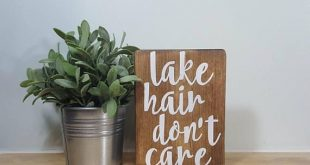 Lake hair, dont care! Excellent decor option for a lake house bathroom! Measure...