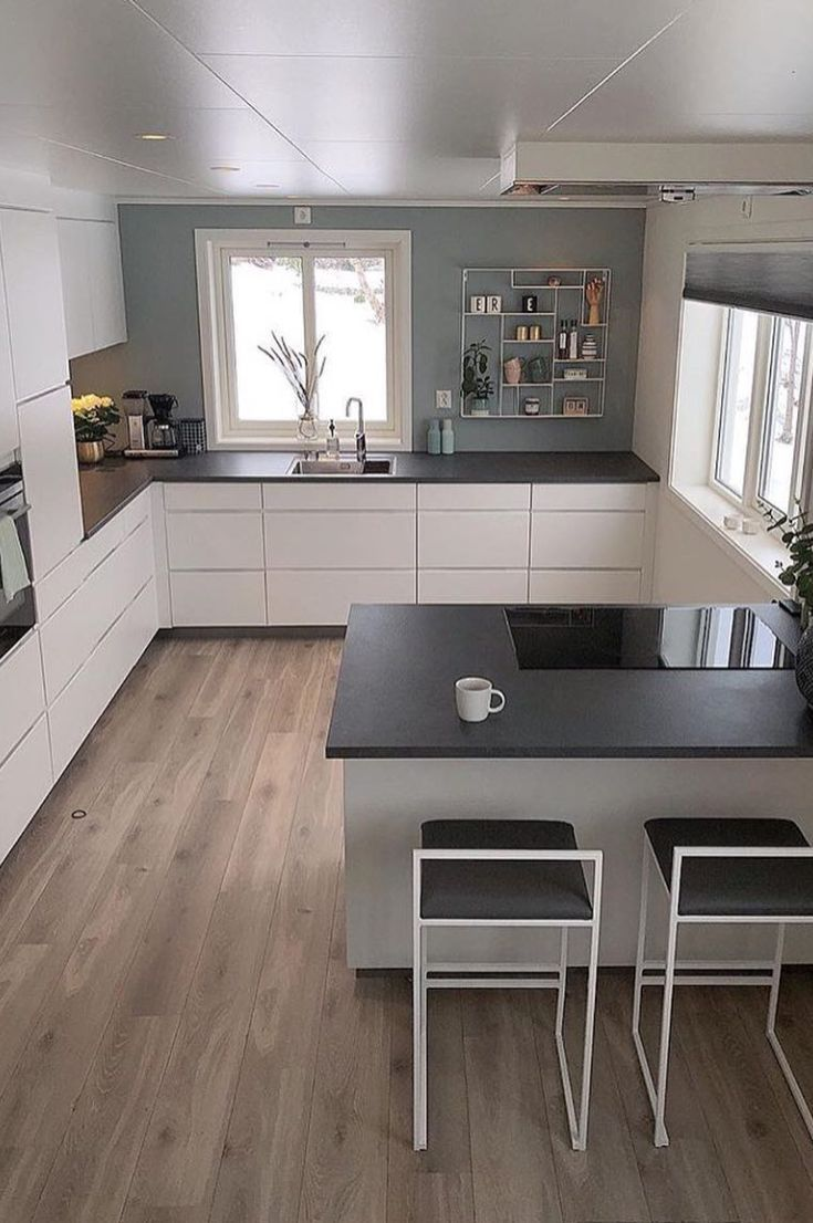 U-shaped Kitchen İdeas; The Most Efficient Design Examples