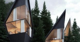 peter pichler envisions sustainable tree houses in the italian dolomites