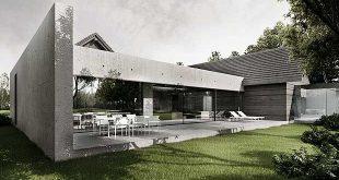 Single family house near Warsaw by Tamizo