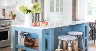 Fall Home Decor Tour - Navy and Rust