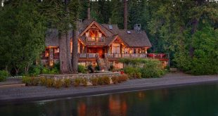 Lake Tahoe house maximizes its privileged lakefront location