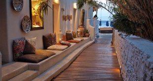 Road for Psarrou Beach - Mykonos