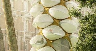 Tree Hopper, un arbre cocon pour se détendre en ville !
