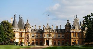 Waddesdon Manor. During the Victorian era, vast country houses by wealthy indust...