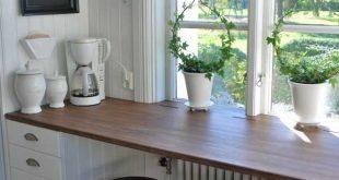 22 Brilliant Kitchen Window Bar-Designs, die Sie gerne besitzen würden -