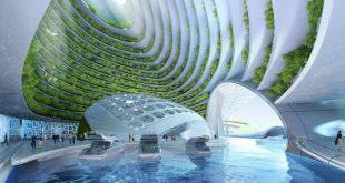 Architekt designt Selbstversorger-Ökodorf unter dem Meer