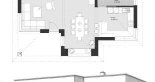 Bungalow Modern Minimalist Style Architecture Design House Plans ELK Bungalow 12...