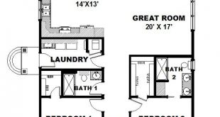 Country Level One of Plan 64564. Flip so bedrooms are in the rear. Turn foyer in...