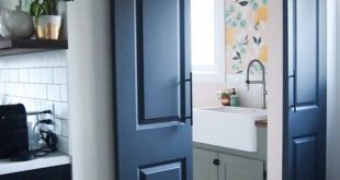 DIY Double Sliding Doors for under $150