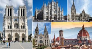 Gothic Architecture: 9 Iconic Cathedrals from the Depths of History