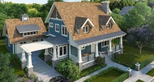 House Plan 1907-00031 - A stunning Country House Plan with awesome exterior; exp...