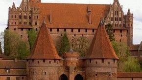 Malbork Castle, Poland ~ the largest castle in the world by surface area, and th...