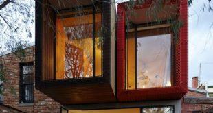 Modernes japanisches Einfamilienhaus - nachhaltige Architektur