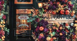 This London bakery has been covered in Autumn beauty by @earlyhoursltd with some...