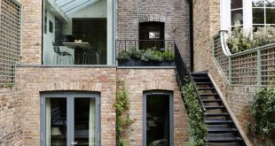 Victorian and contemporary architecture meet at the back of this London Home. A ...