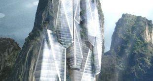 World impeccable Futuristic Arquitecture Zaha Hadid. proposed by malaysian desig...