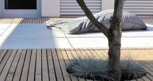 Zeitgenössische Gartenidee - Hausbau - #gartenidee #Hausbau #Zeitgenössische